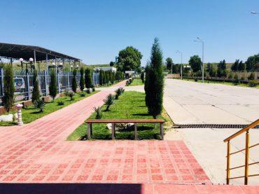 Der usbekische Grenzbereich