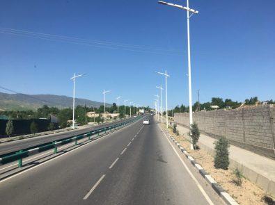 Autobahn nach Duschanbe