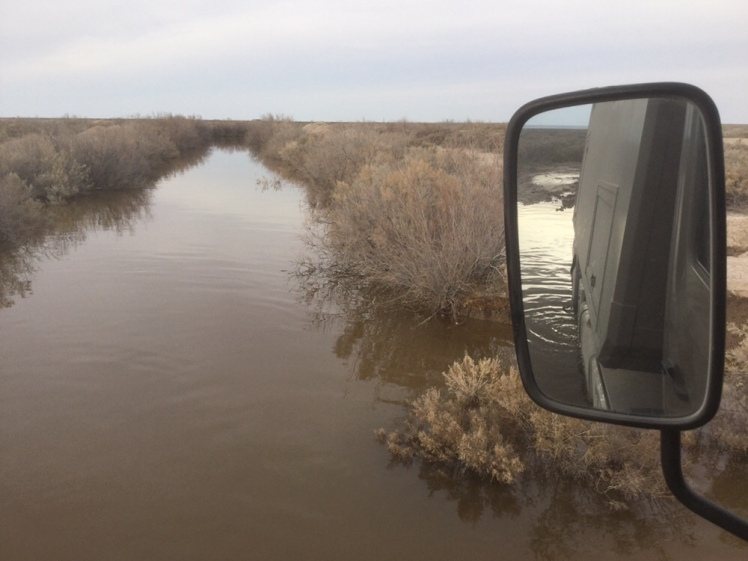Festgefahren am Aralsee