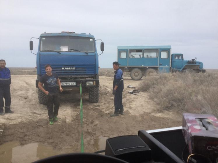 Rettung am Aralsee
