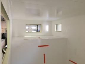 Garage mit GFK-Wände