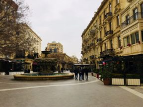 Stadtteil aus der Gründerzeit, Baku