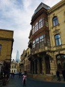 In der historischen Altstadt Bakus