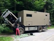 Benz - Luftschlauch Zusatzluftfederung geplatzt