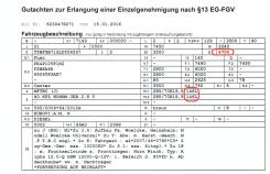 Fuso - zweites Gutachten mit 6,7t