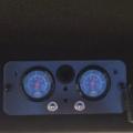 Benz - Bedienkonsole Zusatzluftfederung mit Manometer