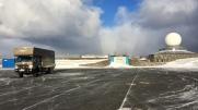 Fuso Canter 4x4 Winter am Nordkap