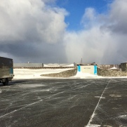 Fuso Canter 4x4 Winter am Nordkap