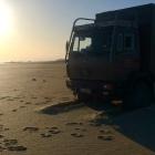 Benz 1120AF Kasachstan Saura Beach