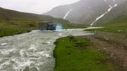 Benz 1120AF Wasserdurchfahrt Kirgisistan M076 - Pereval Kara Buura