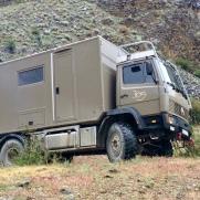 Mercedes Benz 1120 AF in Kirgisistan