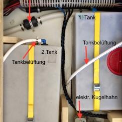 Benz - Verbindung Abwassertank 1 und 2