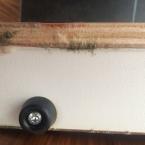 Fuso - Holz durch Feuchtigkeit beschädigt