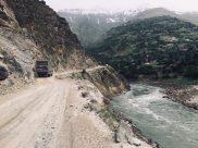 Enge Hauptverkehrsstraße: Pamir Highway