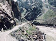 Hauptverkehrsstraße Pamir Highway