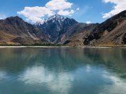 Blick vom Pamir Highway auf Afghanistan