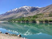 Blick auf Afghanistan am Pamir Highway