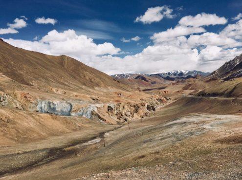 Pamir Highway - kurz vor dem höchsten Pass