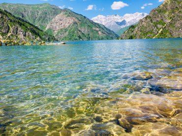 Sary Chelek - klarstes Wasser und eine Umgebung, die an Süddeutschland, Österreich und Schweiz erinnert