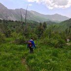 Wanderung am Sary Chelek, kurze Regenpause