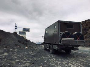 Erster Pass nach Buzuk auf der M-076