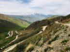 Passstraße auf 2.841 hm im Westen Kirgisistans