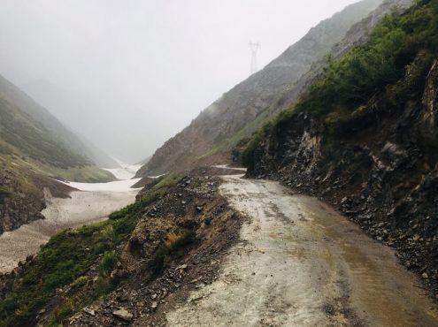 Piste zum Kara Buura Pass