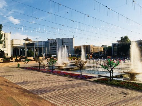 Ala Too Square in Bishkek