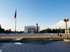 Bishkek: Blick vom Ala Too Square auf das Nationale Historische Museum