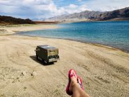 Orto-Tokoy Reservoir, Kirgisistan