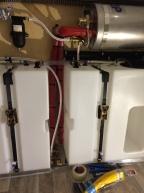 Benz - Boiler und Ausgleichsbehälter