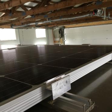 Benz - Befestigung Solarmodul