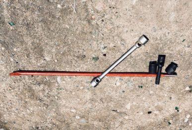 Unser neues Bord-Werkzeug: nie wieder Probleme beim Lösen von Radmuttern