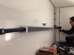 Benz - Konvektor in der Garage