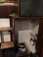 Fuso - Heizung verkleidet im Schrank