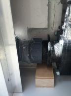 Fuso - Wasserentnahme mit Silikon abgedichtet
