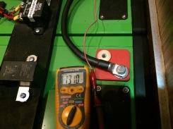 Fuso - Spannung an der Batterie