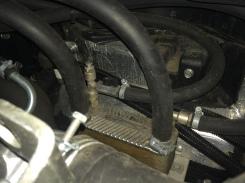 Fuso - Wärmetäuscher am Motor