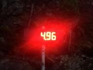 Fuso - Wiegung Verkehrskontrolle Norwegen Hinterachse