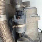 Fuso - Undichte Schlauchschelle an der Umwälzpumpe