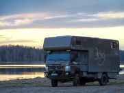 Fuso Canter 4x4 Alkoven Wohnmobil