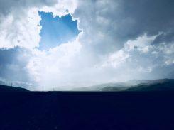 Schlechtwetter in Zentralkirgisistan