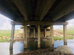 Die 3t-Brücke: Löcher und fragwürdige Konstruktion