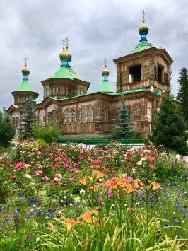 Die Russisch-Orthodoxe Kirche in Karakol