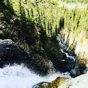Barskoon Wasserfall im Barskoon Valley