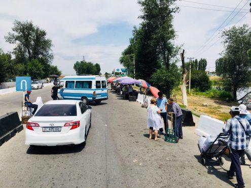 Weg zur Kirgisischen Ausreise