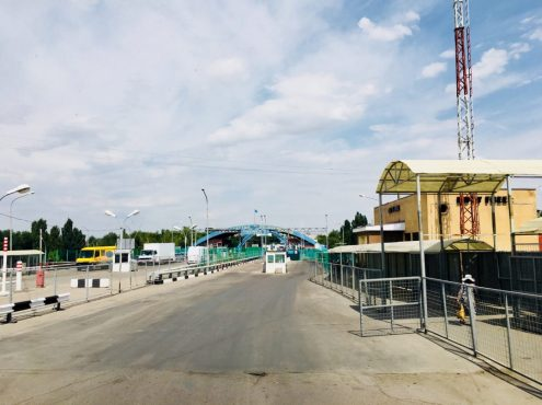 Kasachische Grenze