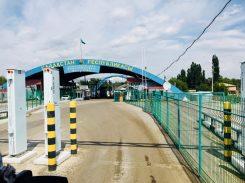 Kasachische Grenzabfertigung