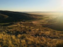 Übernachtungsplatz in der kasachischen Steppe