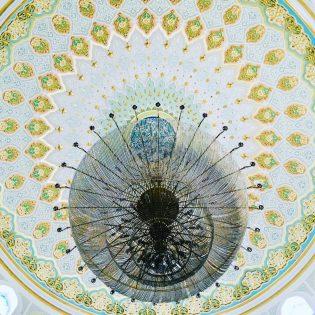 In der Hazrat Sultan Moschee, Astana